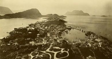 Ålesund kiedyś - zobacz, jak miasto wyglądało ponad 100 lat temu