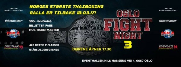 Oslo Fight Night 3