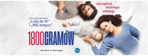 """""""1800 gramów"""" w kinach w Norwegii"""