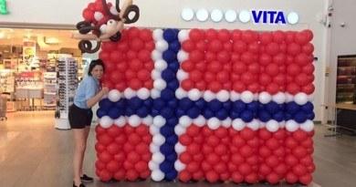 Bicie rekordu Guinnessa w budowli z balonów