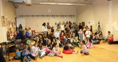 Afrykański pokój zabaw w Oslo