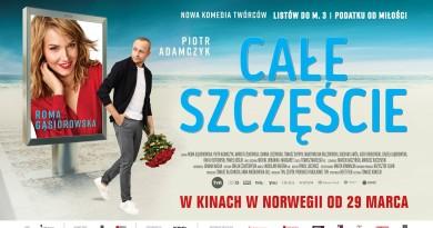 """""""Całe szczęście"""" w kinach w Norwegii"""