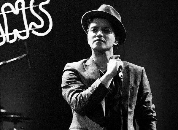 Bruno Mars zagra w Norwegii