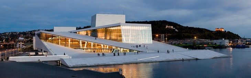 Wycieczka po Operze w Oslo