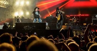 Guns N' Roses w Norwegii