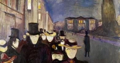 Wystawa obrazów Edvarda Muncha w Bergen
