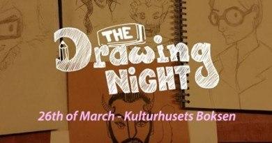 Nocne rysowanie w Oslo