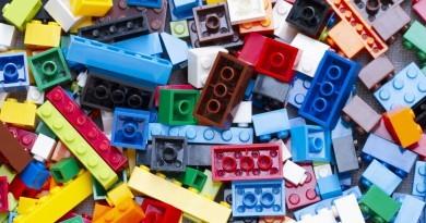 Warsztat klocków LEGO w bibliotece w Asker
