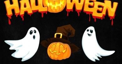 Halloweenowy teatr plenerowy