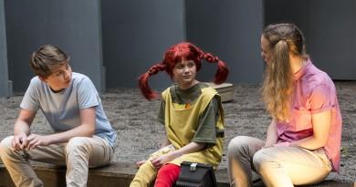 Pippi Pończoszanka w teatrze w Oslo