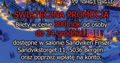 Polski Sylwester 2018/2019 w Bergen