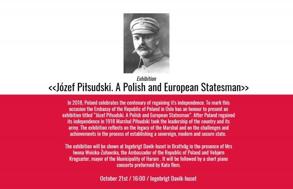 Uroczystość zamknięcia wystawy o Marszałku Józefie Piłsudskim w Hereid