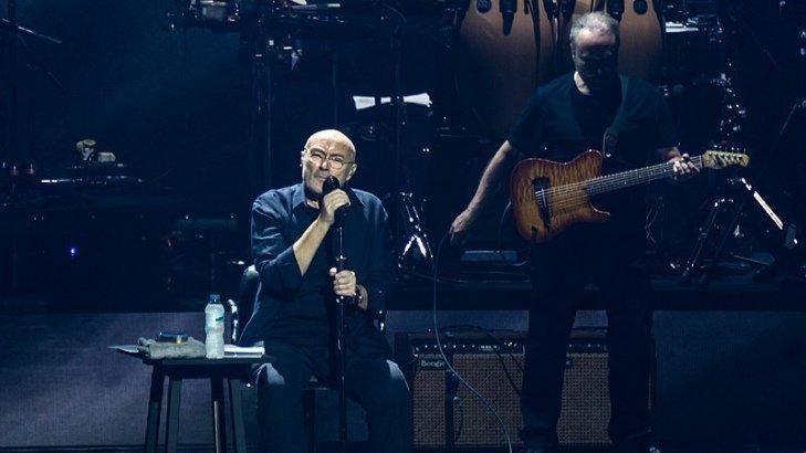 Phil Collins zagra w Bergen