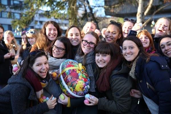 Poszukiwania wielkanocnych jajek w Oslo
