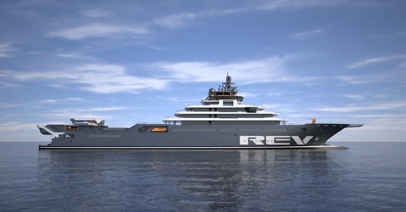 Wizualizacja REV Ocean.