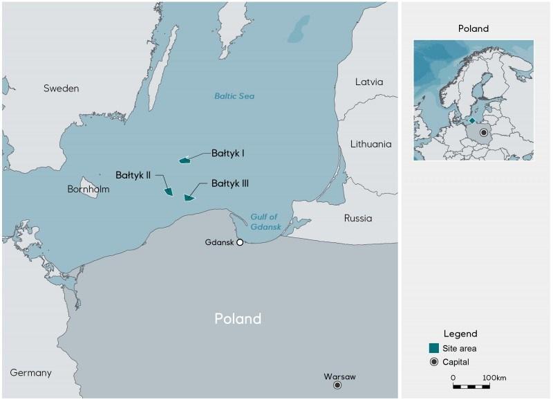 Tak umiejscowione będą wszystkie trzy polsko-norweskie projekty.