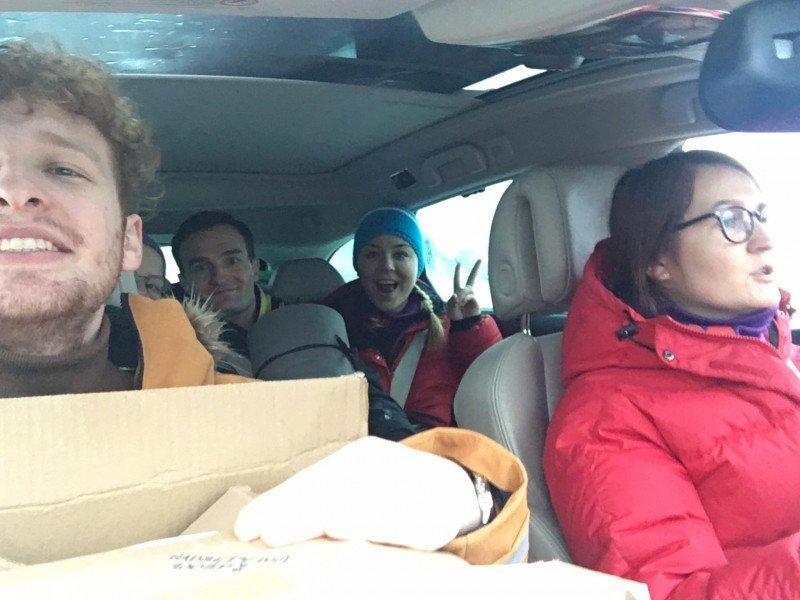 Wolontariusze z Trondheim w pełnej gotowości!