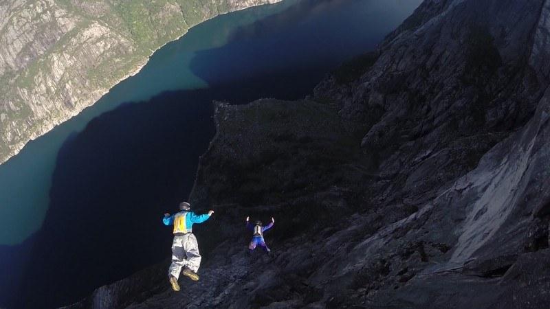 Base Jumping to najbardziej niebezpieczny sport na świecie.