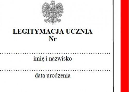 Legitymacja szkoły polonijnej różni się od typowej polskiej legitymacji jedynie brakiem zdjęcia