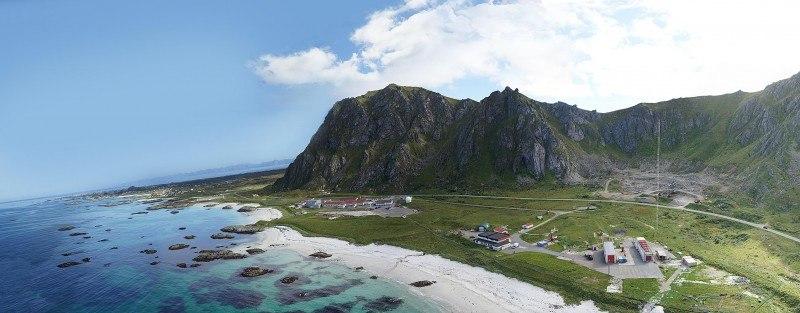 Przed pozytywną decyzją, 12 maja rząd nie ujął Andøya  w zmienionym budżecie.