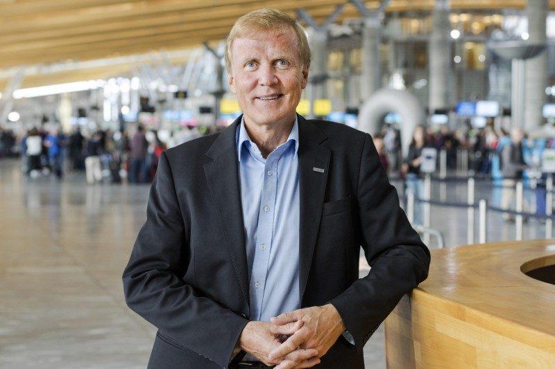 Na zdjęciu: Dag Falk-Petersen, szefa koncernu Avinor.