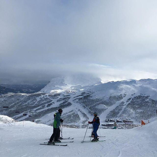 Wielu narciarzy określa Hemsedal mianem skandynawskich Alp.