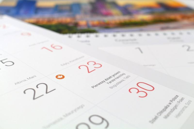 Kalendarz Mojej Norwegii