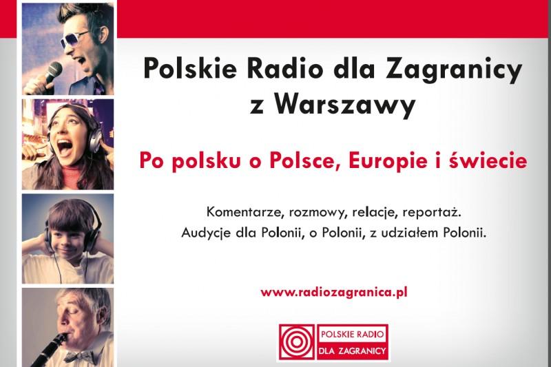 Polskie Radio dla Zagranicy  nadaje audycje nie tylko w języku polskim.