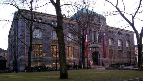 Siedziba Muzeum Sztuki Współczesnej w Oslo.
