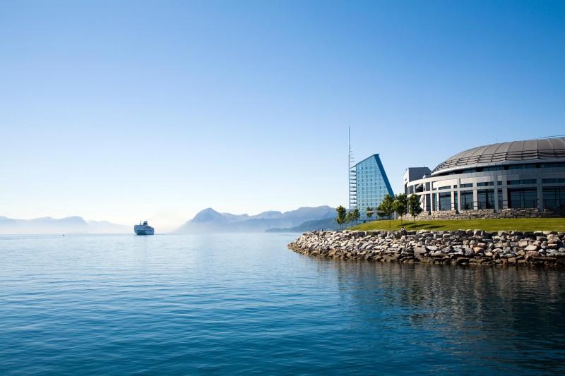 Norwegia: okolice Molde.