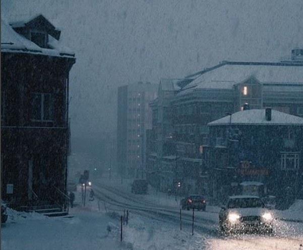 Zima w Narvik na instagramie @swedish.things