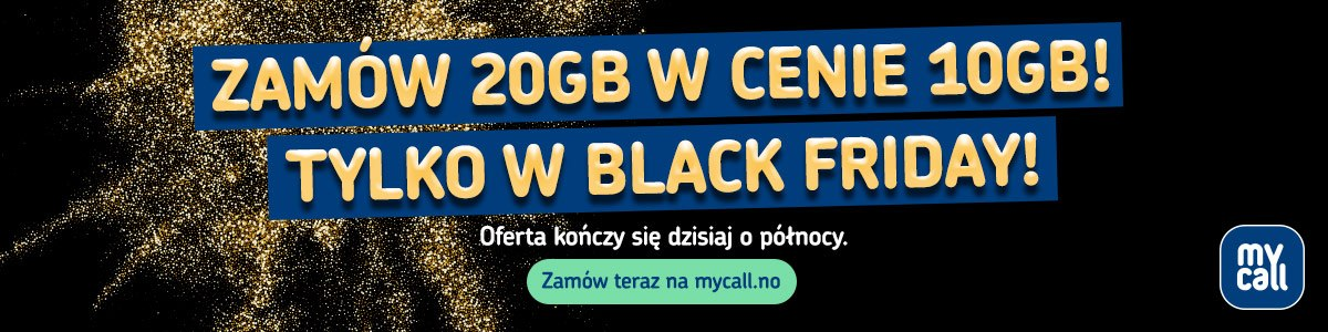 Black Friday z Mycall