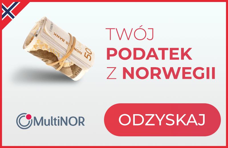 Odzyskaj Twój podatek z Norwegii