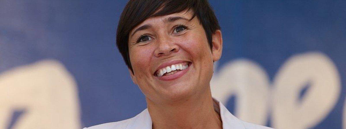Ine Eriksen Søreide na czele norweskiego MSZ. Jako pierwsza kobieta w historii Norwegii
