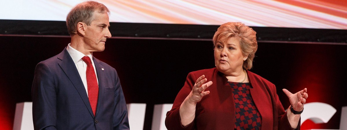 Trwa polityczna wojna o fotel premiera. Støre czy Solberg: kto z nich będzie rządził Norwegią?
