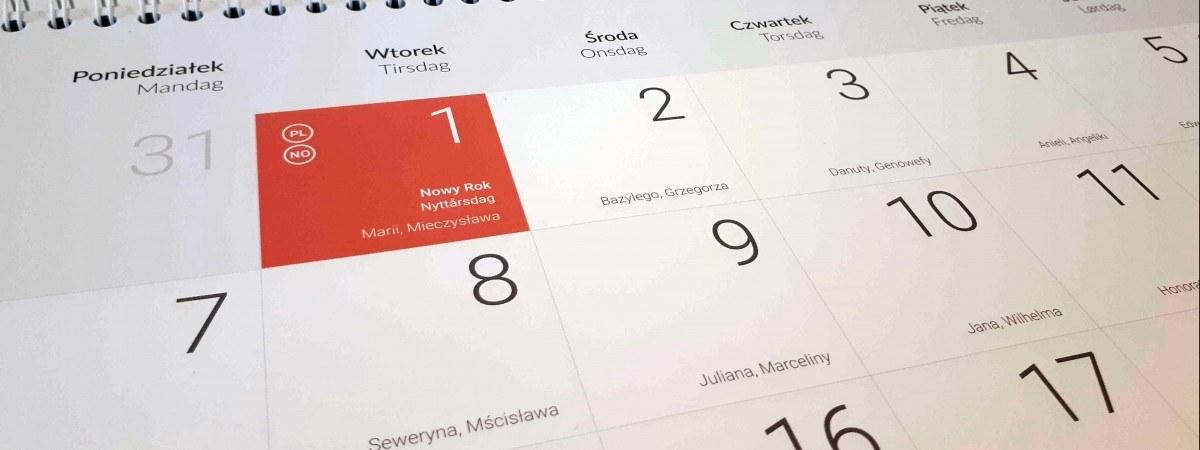 Kiedy Wziąć Urlop W Polsce I Norwegii Dni Wolne święta Długie