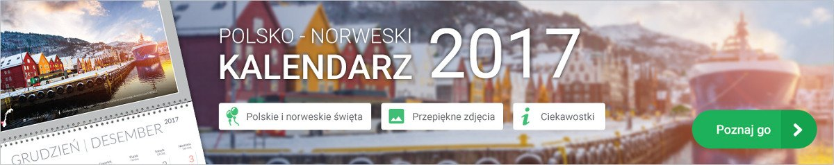 Polsko-norweski kalendarz 2017