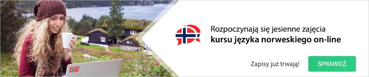 Rozpoczynaja się jesienne zajęcia kursu języka norweskiego on-line
