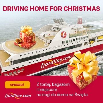 Fjordline - Driving home for christmas