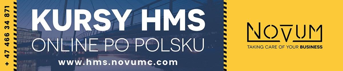 Novum - Kursy HMS, online po polsku.