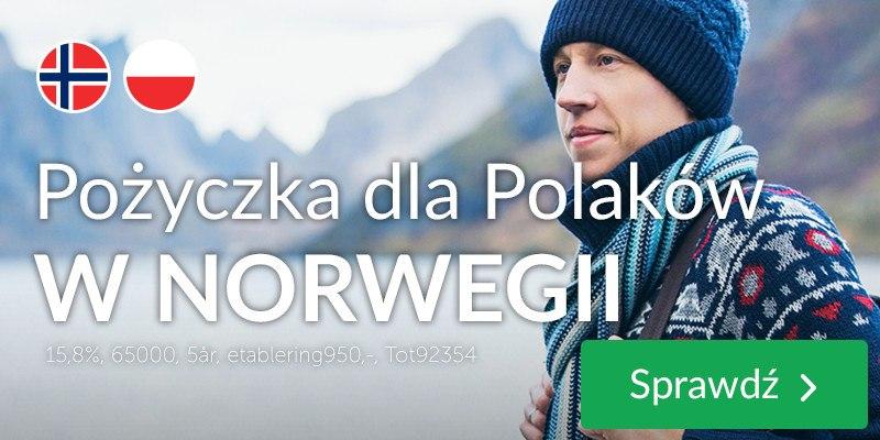 Pożyczka dla Polaków w Norwegii