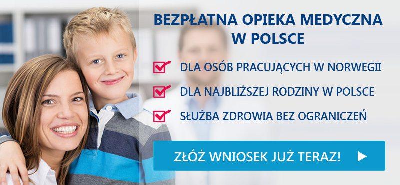 Bezpłatna opieka medyczna w Polsce