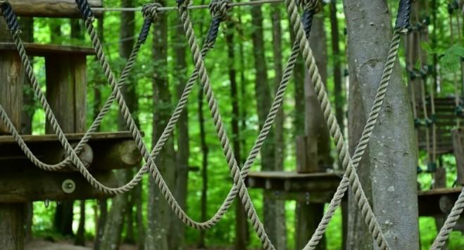 Nowa atrakcja w parku wspinaczkowym w Oslo