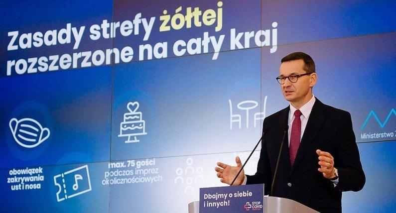 Nad Wisłę wracają obostrzenia: coraz trudniejsza sytuacja epidemiczna w Polsce