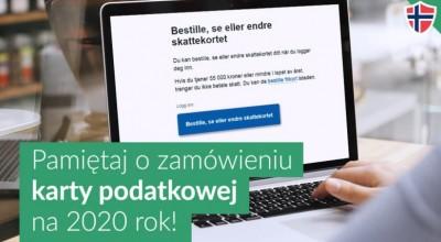 Nie zapomnij o karcie podatkowej w Norwegii