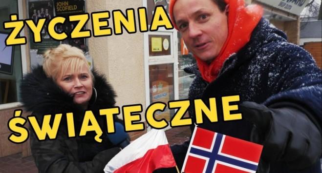 Polacy składają życzenia świąteczne rodakom w Norwegii