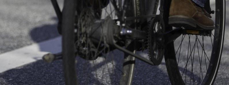 Uchodźca na rowerze