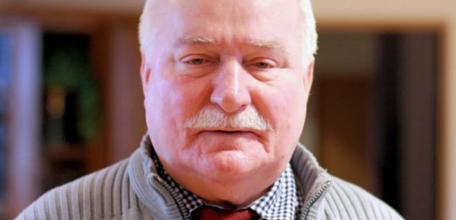 Lech Wałęsa przemawiał w Oslo Senter