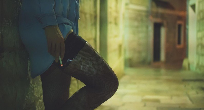 Prostytutki i żebracy powrócili na ulice Bergen