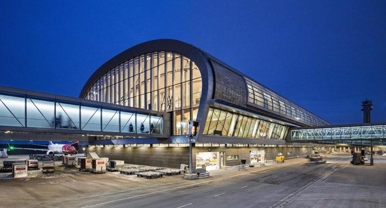 21 sklepów, 37 restauracji, a nawet... fryzjer: rozbudowa lotniska Oslo-Gardermoen dobiegła końca